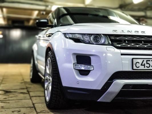Аренда Range Rover Evoque.